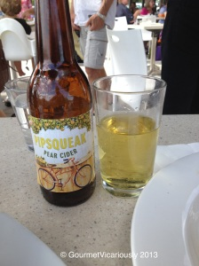 Little Creature's Pear Cider.